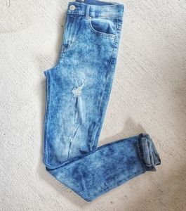 Express high rise jegging jeans size 4